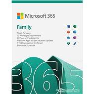 Officesoftware Microsoft Family 365 (elektronische Lizenz)