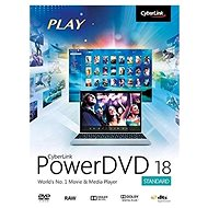 Cyberlink PowerDVD 18 Standard (elektronische Lizenz) - Elektronische Lizenz