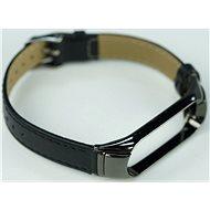 SXT Mi Band 3 Kunstlederarmband Schwarz - Uhrband