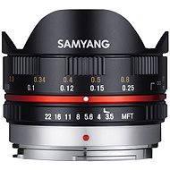 Samyang 7.5mm F3.5 MFT (Black) - Objektiv