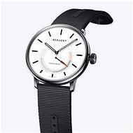 Sequent SuperCharger 2.1 Premium schneeweiß mit schwarzem Armband - Smartwatch