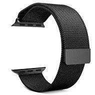 Tactical Loop Magnetic Metallarmband für Apple Watch 1/2/3 38mm Schwarz - Armband