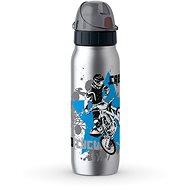 Tefal Vacuum Edelstahlflasche 0,5l ISO2GO Edelstahl Motocross K3182112 - Trinkflasche