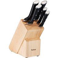 Tefal ICE FORCE 6-teiliges Messerset + Holzblock K232S574 - Messer-Set