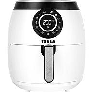 TESLA AirCook Q50 XL - Multifunktionale digitale Heißluftfritteuse weiß - Fritteuse