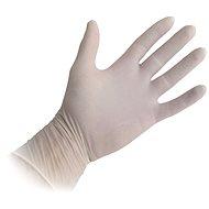 Einweg-Latexhandschuhe, gepudert, Größe M, 100 Stück - Gummihandschuhe