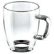 Tescoma Glas-Tasse CREMA 400 ml, 6Stk. - Tasse