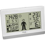 TFA 35.1159.02 WETTERJUNGE - Heimwetterstation mit Wettervorhersage und Männchenfigur - Wetterstation