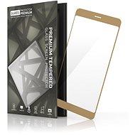 Tempered Glass Protector für Huawei P10 Lite Gold - Schutzglas