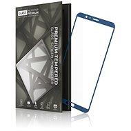 Tempered Glass Protector mit Rahmen für Honor View 10 Blue
