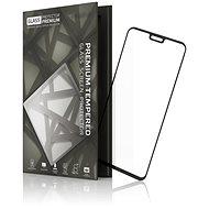 Tempered Glass Protector mit Rahmen für Honor 8X / 9X Lite, Schwarz - Schutzglas