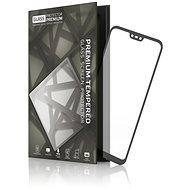 Tempered Glass Protector mit Rahmen für Huawei P20 Lite Schwarz