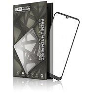 Tempered Glass Protector mit Rahmen für Huawei Y6 (2019) Schwarz - Schutzglas