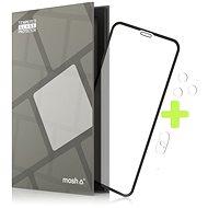 Tempered Glass Protector für iPhone Xs Max / 11 Pro Max, Schwarz + Kameraschutzglas
