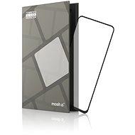 Tempered Glass Protector mit Rahmen für Nokia 8.3, schwarz - Schutzglas