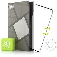 Tempered Glass Protector für Huawei Mate 40 Pro - 3D GLASS, schwarz + Kamera-Schutzglas - Schutzglas
