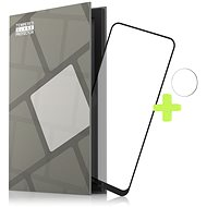 Tempered Glass Protector Frame für Nokia 5.4 - schwarz + Schutzglas für Kamera - Schutzglas
