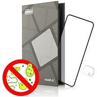 Tempered Glass Protector Antibacterial für Xiaomi Poco X3 Pro, Schwarz + Kameraglas - Schutzglas