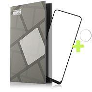 Tempered Glass Protector für Nokia X10 / X20. schwarz + Kamerschutzglas - Schutzglas
