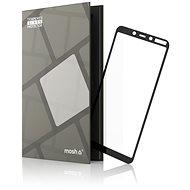 Gehärtetes Glas Schutzrahmen für Nokia 3.1 Plus schwarz - Schutzglas