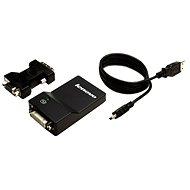 Lenovo USB 3.0 DVI/VGA Monitor Adapter - Adapter
