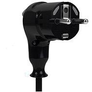Tinen 230V schwarz - Stecker