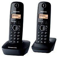 Panasonic KX-TG1612FXH DECT SMS Duo - Zwei digitale kabellose Haustelefone