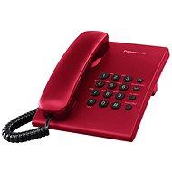 Panasonic KX-TS500FXR Festnetztelefon Red - Haustelefon