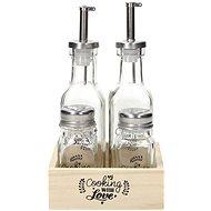Tognana Griffmenage Öl/Essig/Salz und Pfeffer COOKING WITH LOVE - Griffmenage