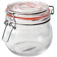 TORO AUFBEWAHRUNGSDOSE GLAS, PATENTIERTER DECKEL, 450 ml - Dose