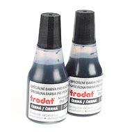 TRODAT Stempelfarbe 7010 schwarz - 2 Stück - Stempelfarbe