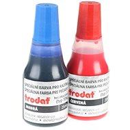 TRODAT Stempelfarbe 7010 blau + rot - 2 Stück - Stempelfarbe