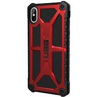 UAG Monarch Case Crimson Red iPhone XS Max - Silikon-Schutzhülle