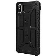 UAG Monarch Case Black Matte iPhone XS Max - Silikon-Schutzhülle