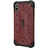 UAG Pathfinder Case Karminrot iPhone XS max - Silikon-Schutzhülle