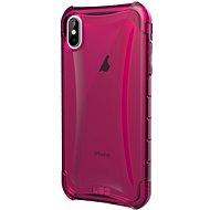 UAG Plyo Case Pink iPhone XS Max - Silikon-Schutzhülle