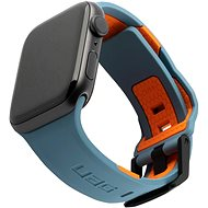 UAG Civilian Strap, slate/orange -Apple Watch 44/42 mm - Armband