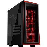SilverStone Redline RL06BR-GP schwarz-rot - PC-Gehäuse