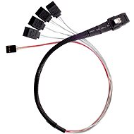 Silver Mini-SAS SFF-8087 schwarz - Kabel