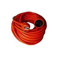 Solight Verlängerungskabel, 1 Steckdose, orange, 20m - Prodlužovací kabel