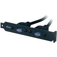 AKASA USB 3.0 Halterung - Verschlußstopfen