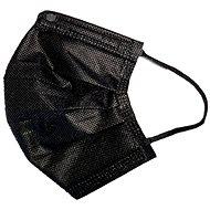 RespiLAB Einwegmasken für Kinder - schwarz (10 Stück) - Gesichtsmaske