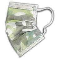 RespiLAB Einwegmasken für Kinder - Camouflage (10 Stück) - Gesichtsmaske