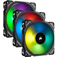 Corsair ML Pro RGB 120 Millimeter Three Fan Kit High Static Pressure PWM - Ventilator