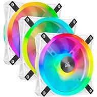 Corsair iCUE QL120 RGB 120mm White Triple Fan Kit - PC-Lüfter