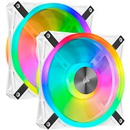 Corsair iCUE QL140 RGB 140mm White Dual Fan Kit - PC-Lüfter