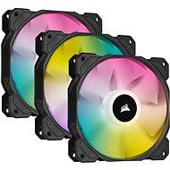 Corsair iCUE SP120 RGB ELITE Triple Pack Black + Lightning Node Core - PC-Lüfter