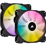 Corsair iCUE SP140 RGB ELITE Dual Pack Black + Lightning Node Core - PC-Lüfter
