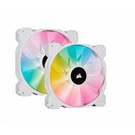 Corsair iCUE SP140 RGB ELITE Dual Pack White + Lightning Node Core - PC-Lüfter