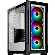 Corsair iCUE 220T RGB Tempered Front Glass White - PC-Gehäuse
